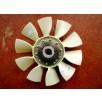 Вентилятор DCEC Камминз ISDe в сборе с термомуфтой 4988656 (D=550 mm)