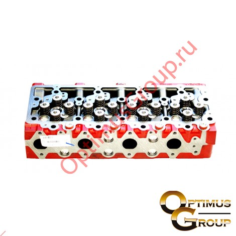 Головка блока цилиндров (ISF3.8) E-3,E-4 в сб. {ПАЗ,Валдай,} 5258274 5258277 5258275