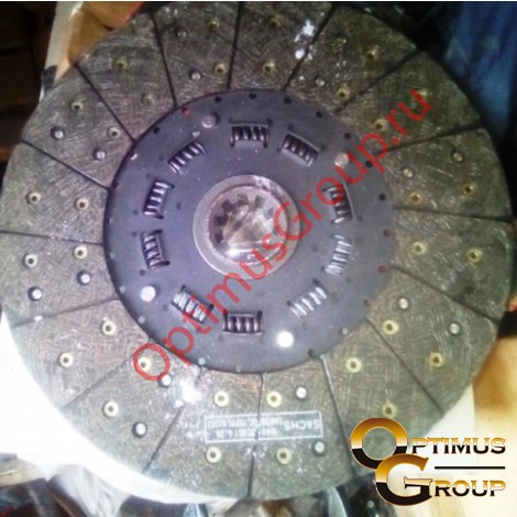 Диск сцепления для КАМАЗ 4308, MFZ-350, 3970506 1878002642